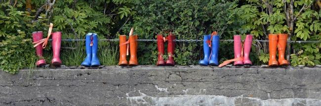 Gummistiefel - Die Suche nach dem Glück