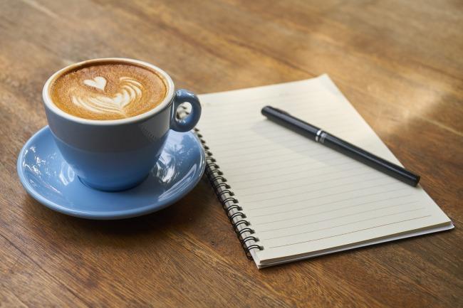 Kaffee und Arbeit - Work Life Balance