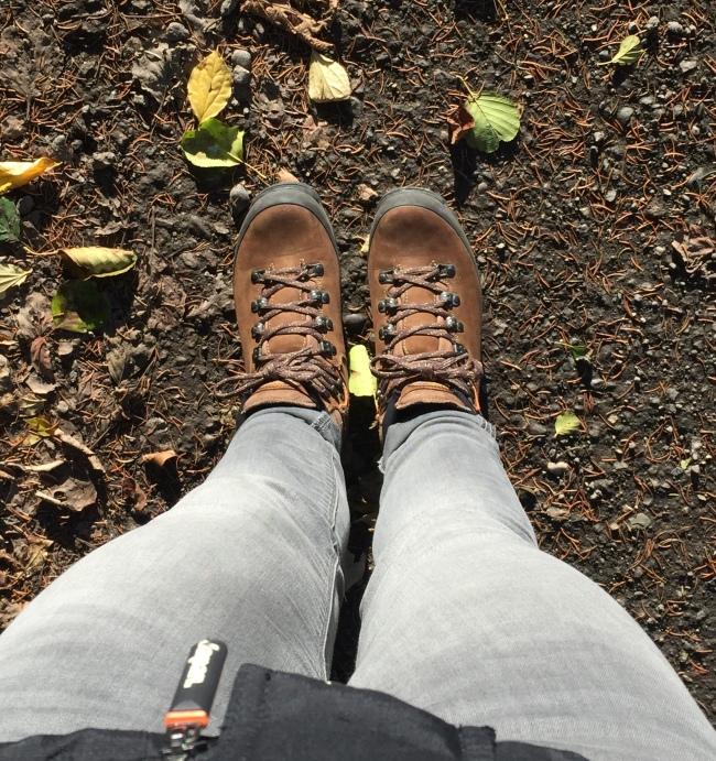 Wanderschuhe - Die Suche nach dem Glück.