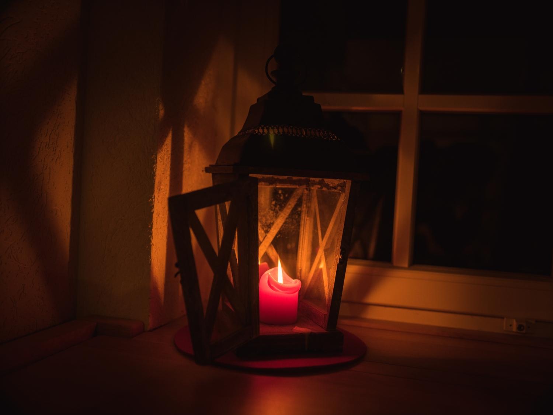 Kerzenlicht - Glücksmoment - Hygge