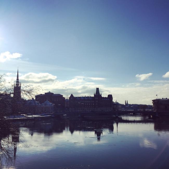 Stockholm: Blick übers Wasser.