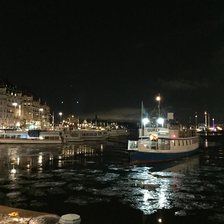 Nachts in Stockholm.