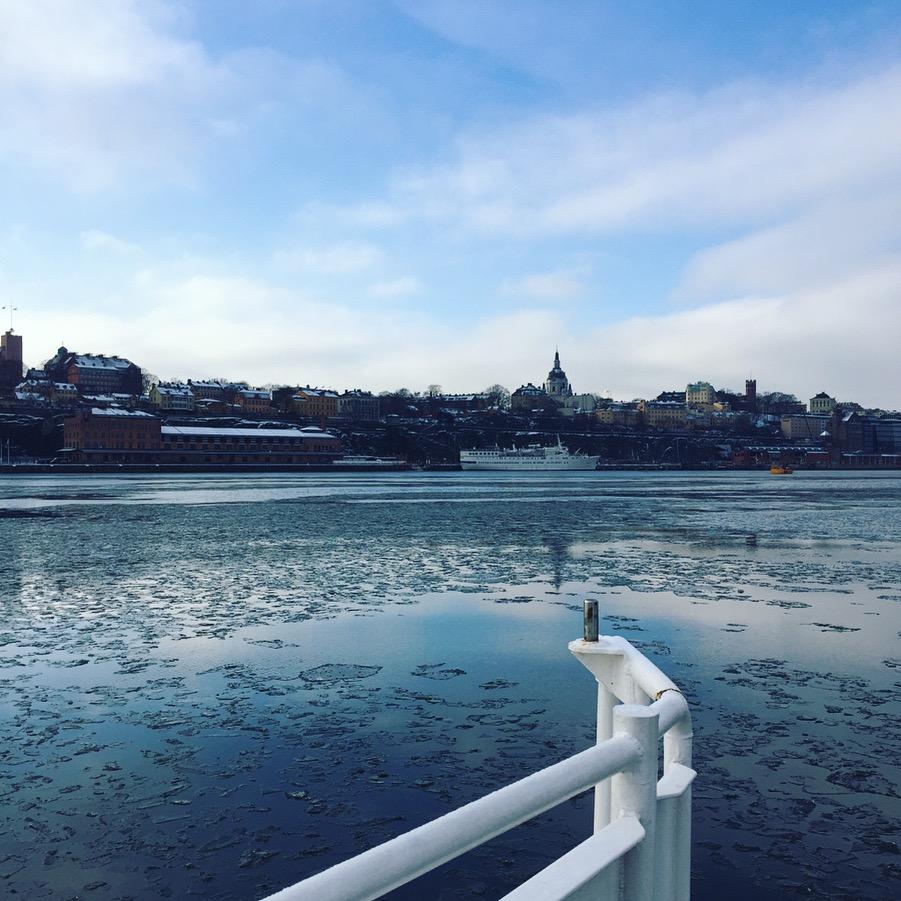 Stockholm: Unterwegs auf dem Wasser.