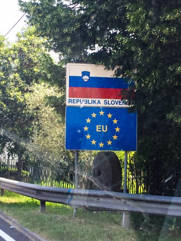 Unsere Route: Von Österreich über Slowenien nach Kroatien.